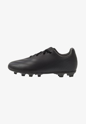 GHOSTED.4 FXG UNISEX - Moulded stud football boots - core black/grey six