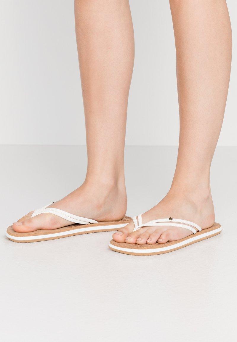 O'Neill - DITSY - T-bar sandals - powder white