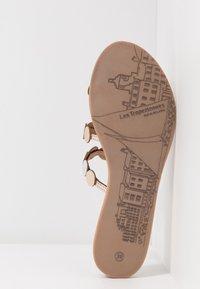 Les Tropéziennes par M Belarbi - HOROND - T-bar sandals - or - 4