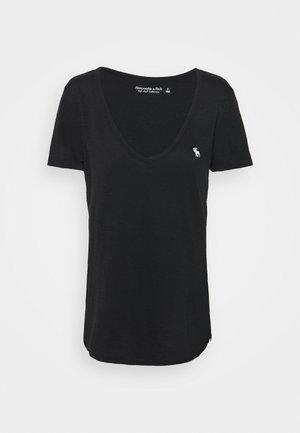 SOFT TEE - T-shirts - black