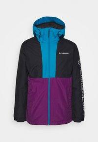 Columbia - TIMBERTURNER JACKET - Veste de snowboard - plum/black/fjord blue - 4
