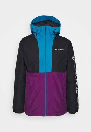 TIMBERTURNER JACKET - Snowboardová bunda - plum/black/fjord blue