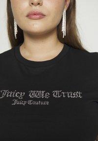 Juicy Couture - JUICY TRUST - T-shirt print - black - 7