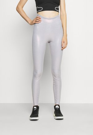 ADIDAS BY STELLA MCCARTNEY TRAINING WORKOUT AEROREADY PRIMEGREEN LEGGINGS FITTED - Tights - hazy rose/clear onix