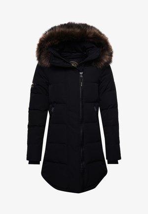 Abrigo de invierno - black/gold
