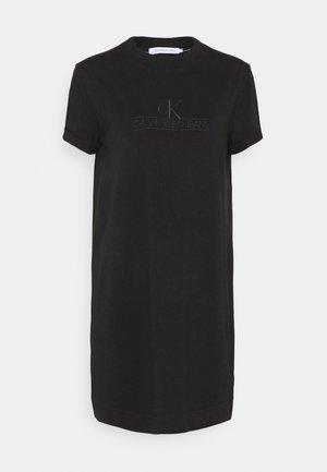 ARCHIVES DYE DRESS - Žerzejové šaty - black