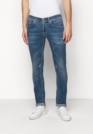 PANTALONE GEORGE - Jean slim - blue denim