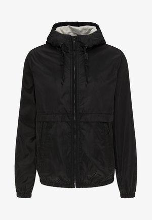 Outdoor jakke - black