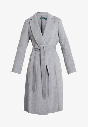 DOUBLE FACE WRAP - Zimní kabát - pale grey