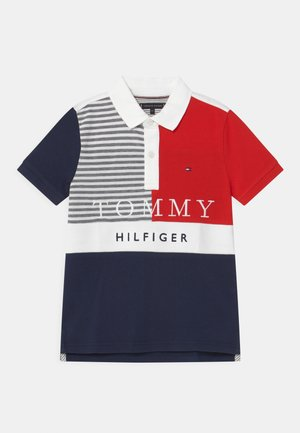 ITHACA COLORBLOCK - Polo shirt - twilight navy