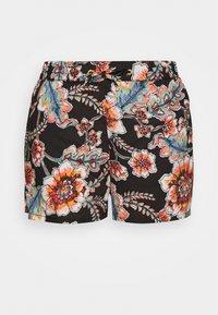 MIX AND MATCH - Bikini bottoms - black/red