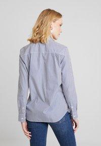 GANT - THE BROADCLOTH BANKER - Button-down blouse - indigo blue - 2
