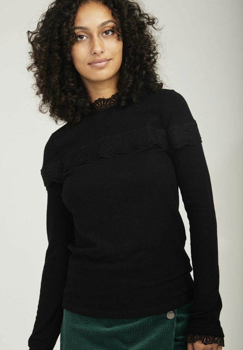 NAF NAF - Long sleeved top - black