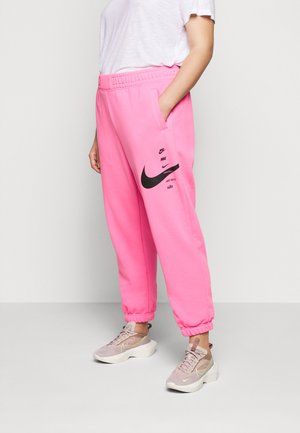 Tracksuit bottoms - pink glow