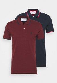 Selected Homme - SLHNEWSEASON 2 PACK - Polo shirt - navy blazer/port roayle - 6