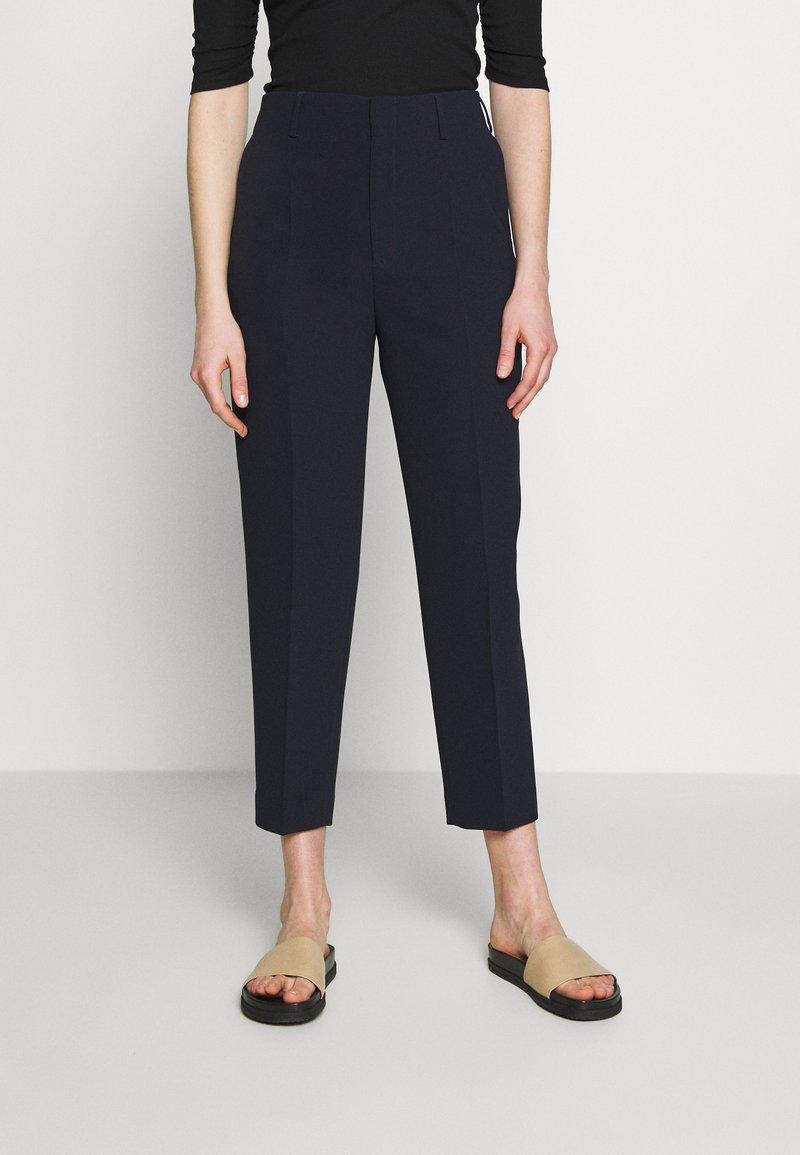 Filippa K - KARLIE TROUSER - Trousers - navy
