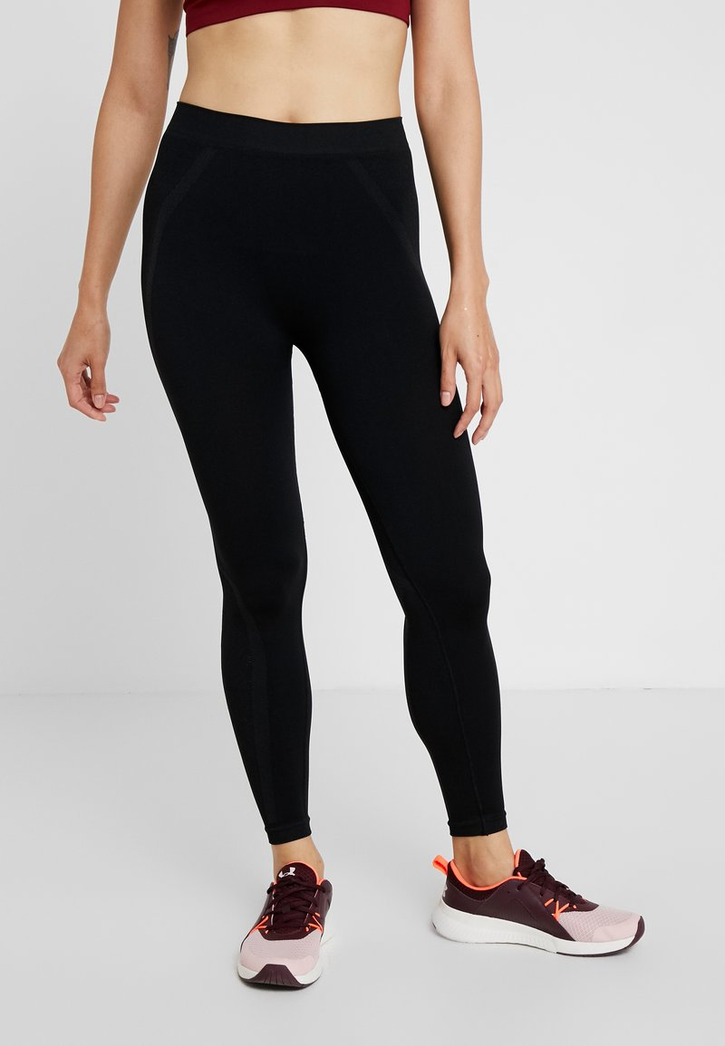 Diadora - PANTS ACT - Tights - black