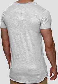 INDICODE JEANS - WILBUR - Print T-shirt - light grey - 2