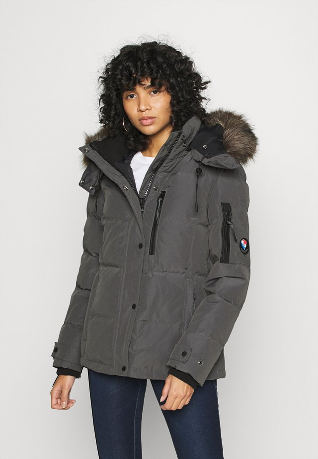 PREMIUM RESCUE JACKET - Down jacket - charcoal
