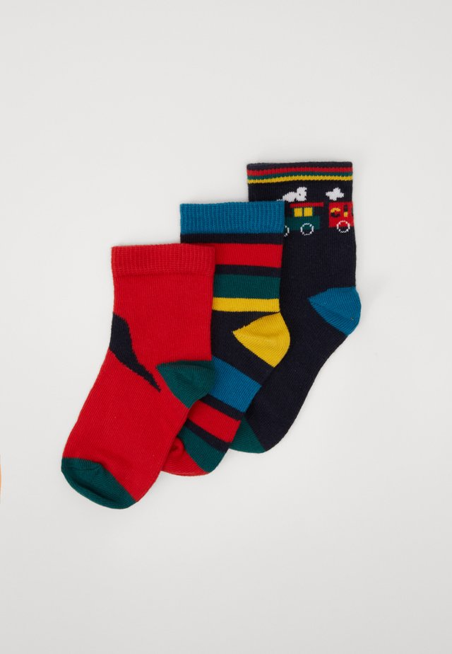 BAMBINO GIFT BOX SOCKS 3 PACK - Strumpor - navy