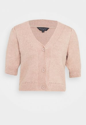 SLEEVESOFT CROP CARDIGAN - Vest - blush