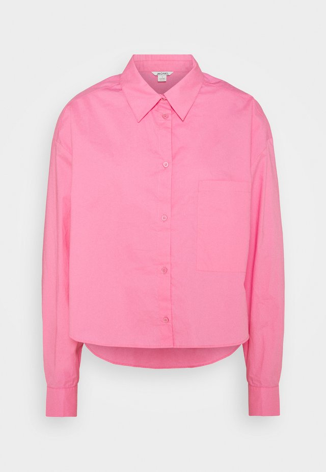 TAY SHIRT - Button-down blouse - pink