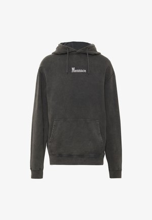 WASHED PRIMARY - Kapuzenpullover - black