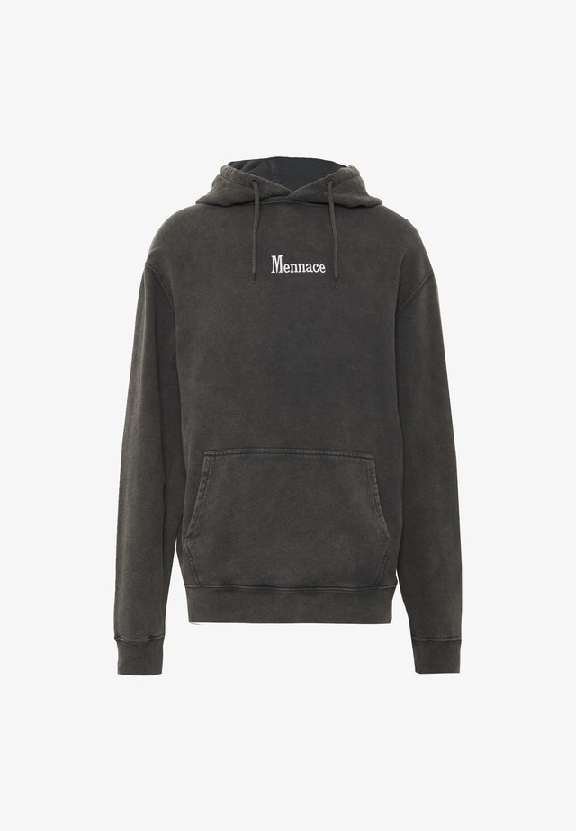 WASHED PRIMARY - Hoodie - black