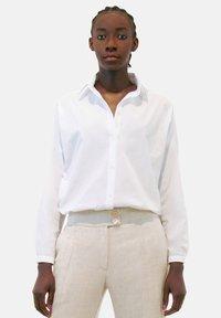 Aline Celi - Button-down blouse - white - 3