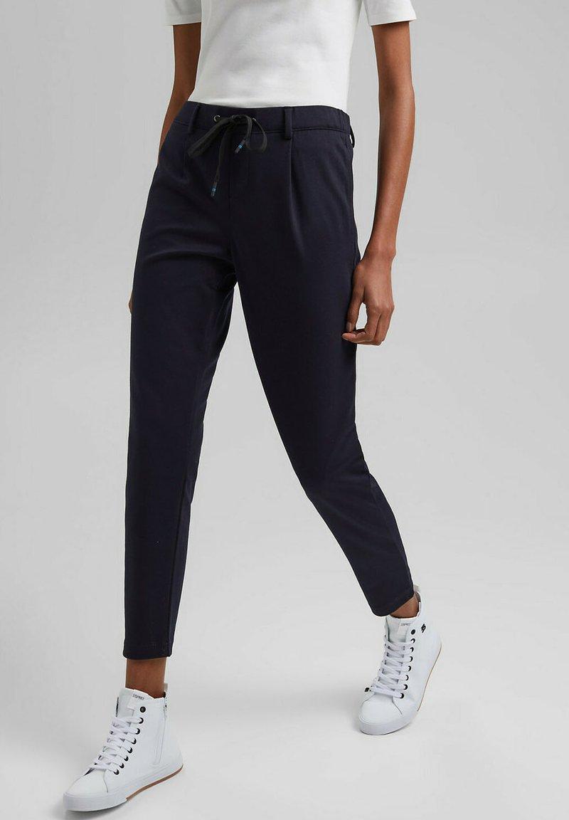 edc by Esprit - Trousers - dark blue