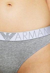 Emporio Armani - BRAZILIAN BRIEF 2 PACK - Briefs - grey - 4