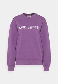 Carhartt WIP - CARHARTT - Sweatshirt - aster/white - 4
