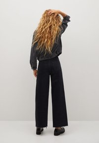 Mango - LUNA - Jeansjacke - black denim - 2
