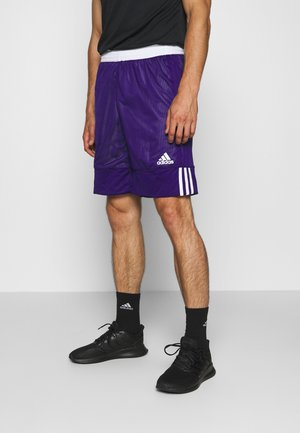 SPEED REVERSIBLE SHORTS - Sports shorts - purple/white