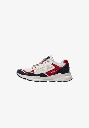 CONCRETE CO011 - Sneakers basse - white/red/navy