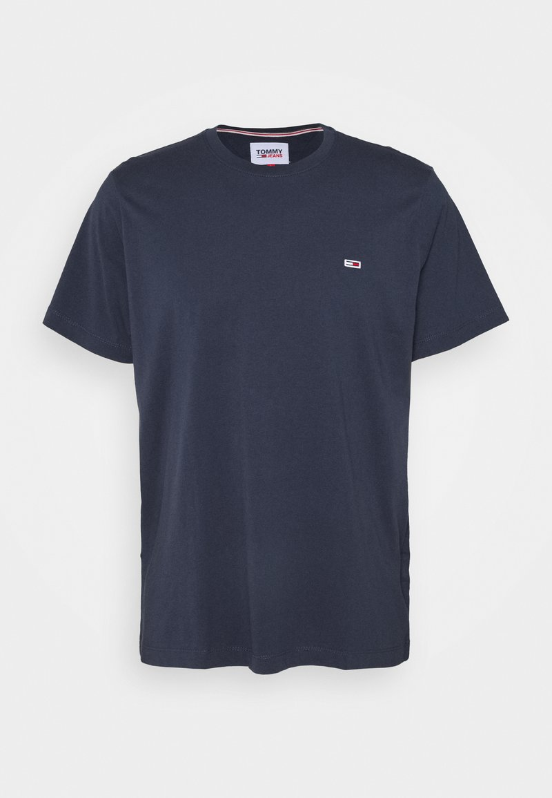 Tommy Jeans - TJM CLASSIC JERSEY C NECK - T-shirt basic - twilight navy