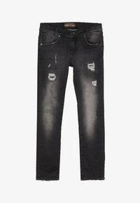 Blue Effect - BOYS - Jeans Skinny Fit - black medium - 3