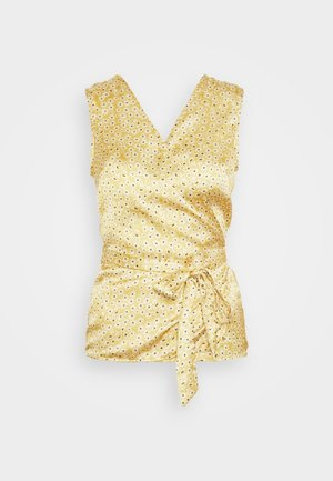 WRAP TOP - Blůza - gold