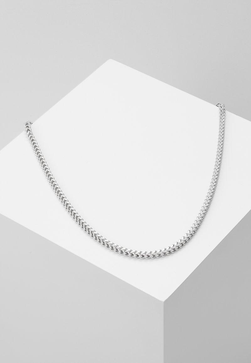 Nialaya - SQUARED CHAIN - Collana - silver-coloured