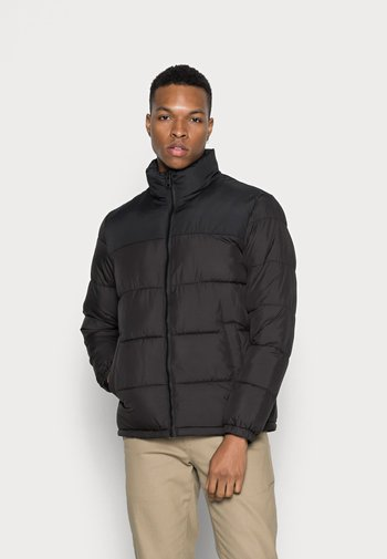 JJPAUL PUFFER COLLAR - Winter jacket - black