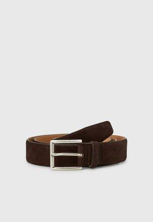 BALLONET - Belt - dark brown