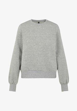 Collegepaita - light grey melange