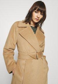 GANT - BLEND BELTED COAT - Classic coat - warm khaki - 3