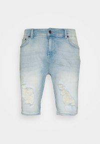 SIKSILK - DISTRESSED - Jeansshorts - light blue - 3
