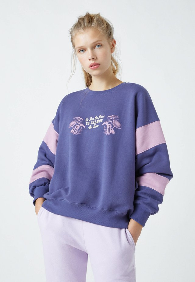 Bluza - mottled purple
