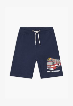 SMALL BOYS FIRETRUCK - Tracksuit bottoms - blau