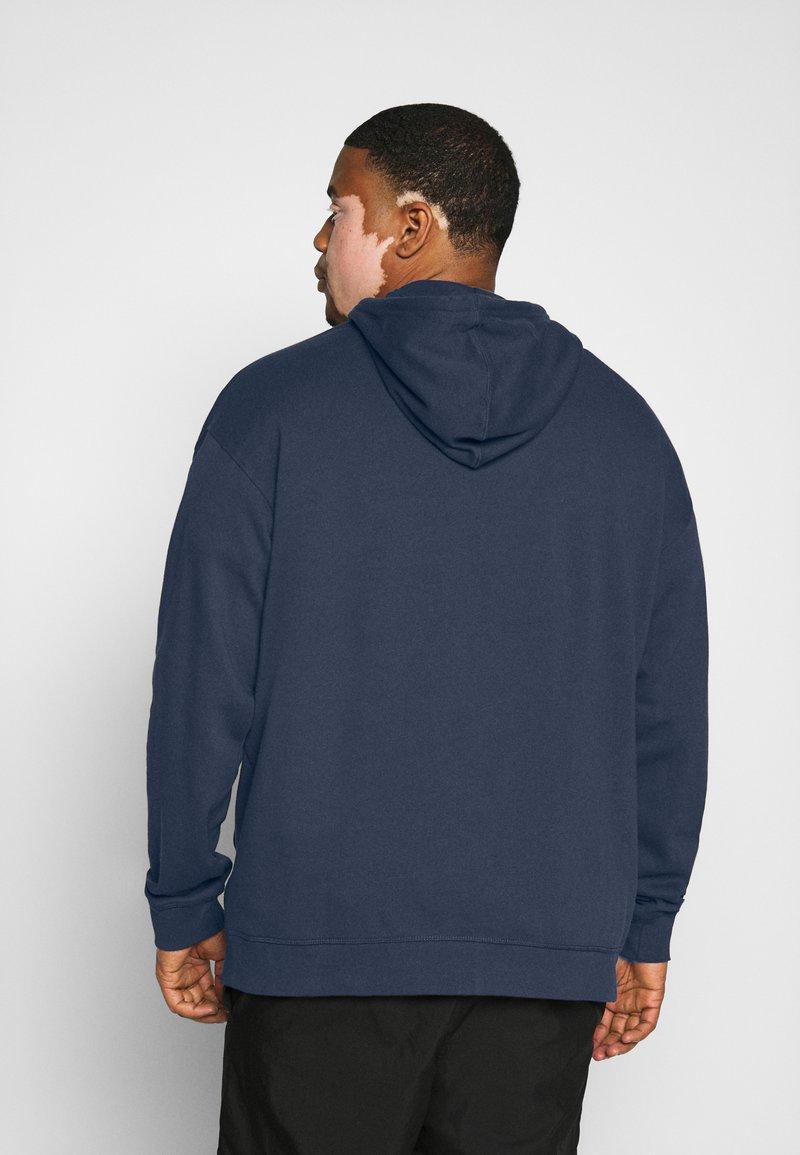 Pier One - Zip-up hoodie - dark blue