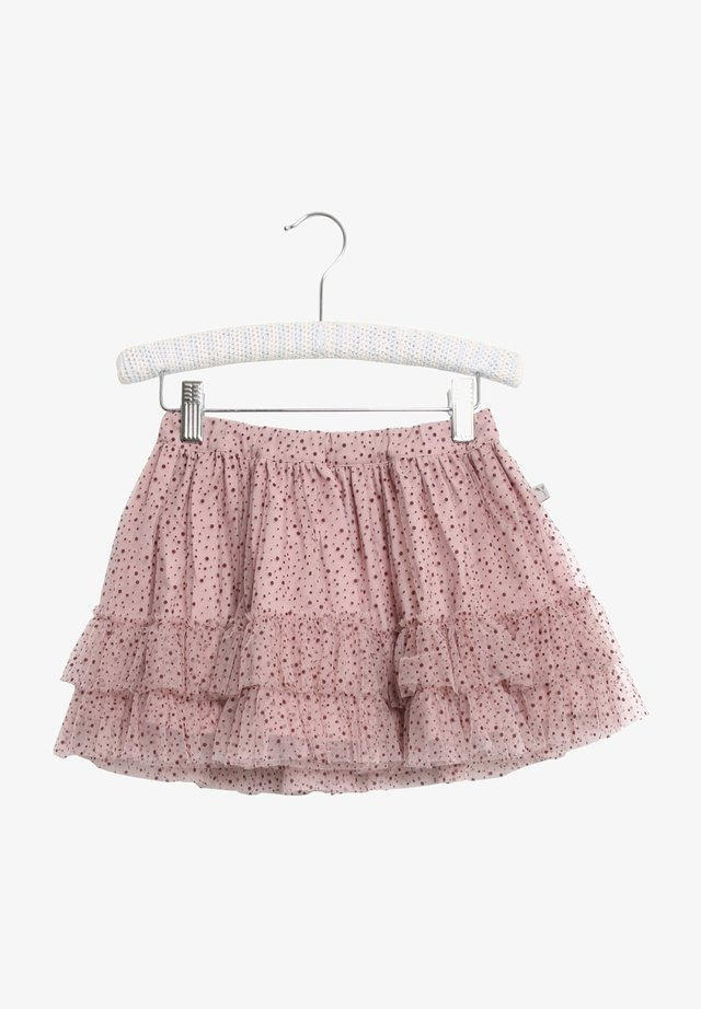 A-line skirt - rose powder