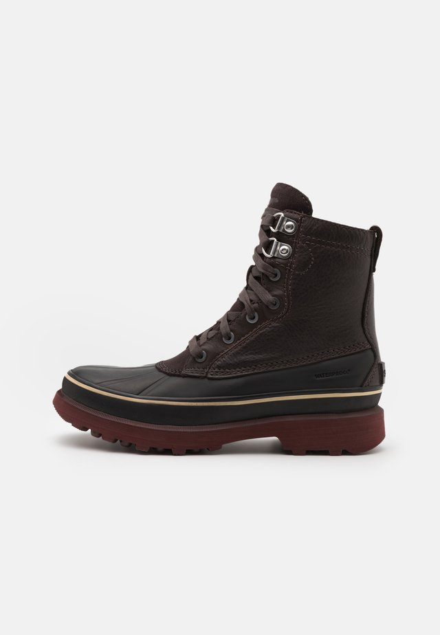 CARIBOU STORM WP - Veterboots - blackened brown