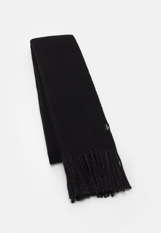 VINCENT - Scarf - black/anthracite melange